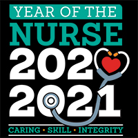 2020: Year Of The Nurse themed products