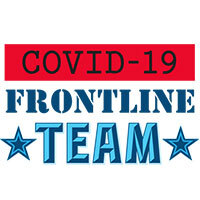 Covid-19 Frontline Team themed products