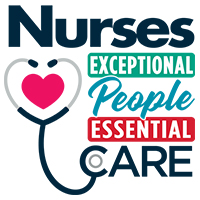 Nurses Exceptional People Essential Care themed products