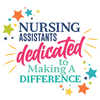 Nursing Assistants Dedicated To Making A Difference themed products