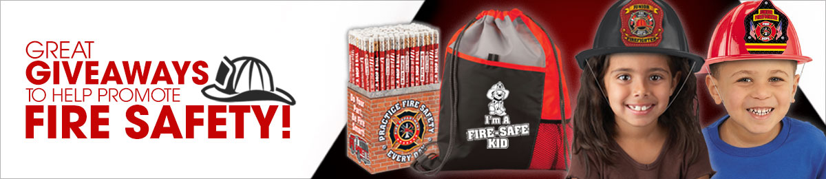 Fire prevention pencils from Positive Promotions