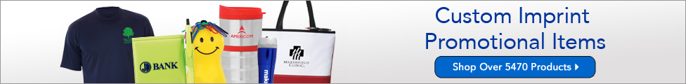 custom imprint products, custom branded products, custom merchandise