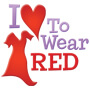 I Love To Wear Red