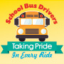 School Bus Drivers Taking Pride In Every Ride