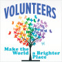 Volunteers Make The World A Brighter Place