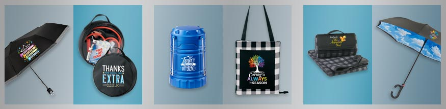 Employee appreciation outdoor gifts from Positive Promotions