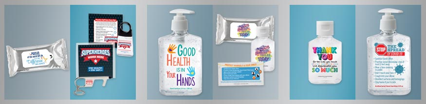 Employee Appreciation Hand Sanitizer from Positive Promotions