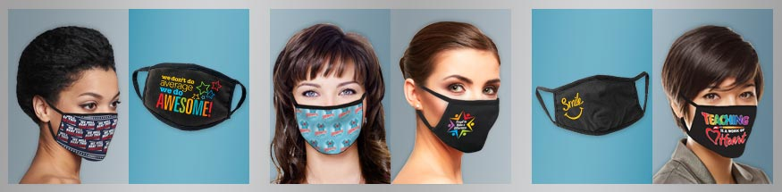 Employee appreciation face masks from Positive Promotions