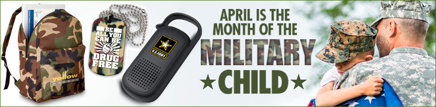 Military family appreciation from Positive Promotions