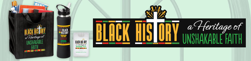 Black history month religious gifts from Positive Promotions