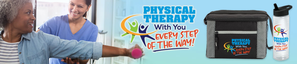 Physical therapist appreciation gifts from Positive Promotions