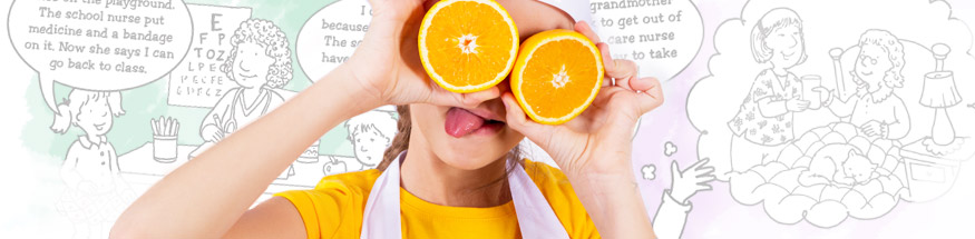 Kids nutrition and fitness from Positive Promotions