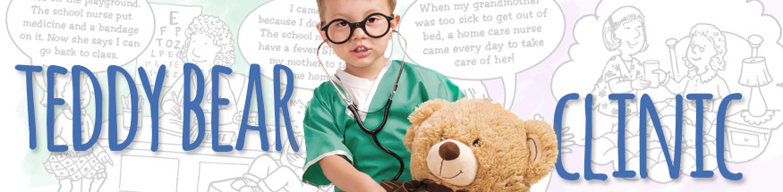 Kids hospital essentials from Positive Promotions