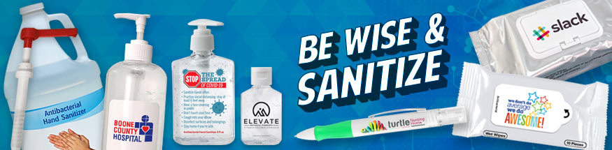 Promotional Hand Sanitizers with Your Logo from Positive Promotions