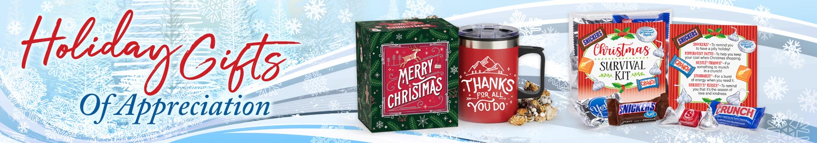 Merry Christmas Gifts For Employees from Positive Promotions