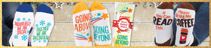 Holiday sock gift sets
