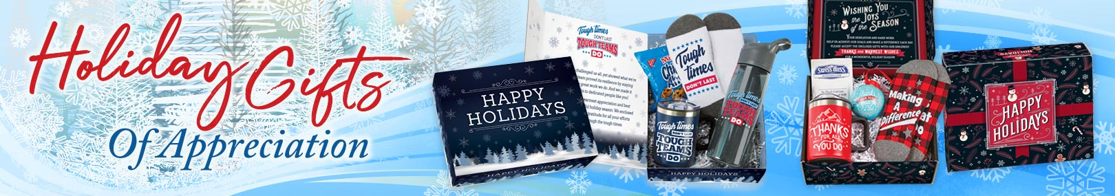 Holiday Care Kits from Positive Promotions