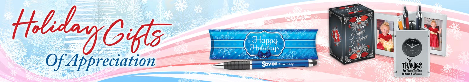 Holiday Modern Office Gifts from Positive Promotions