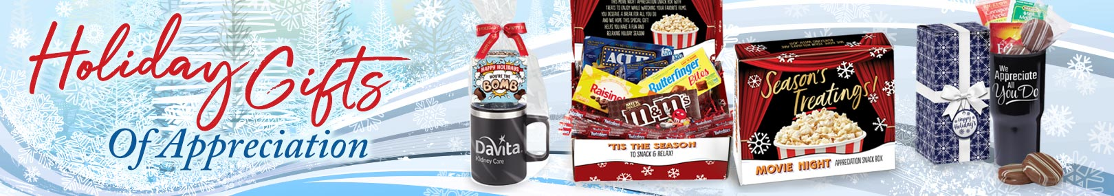 Holiday gifts from Positive Promotions