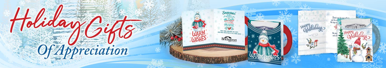 Holiday greeting cards from Positive Promotions