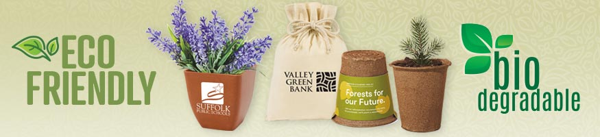 Eco-Friendly:  Biodegradable Promotional Products from Positive Promotions